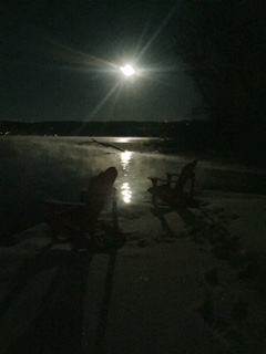 Thanksgiving Full Moon, Otisco
