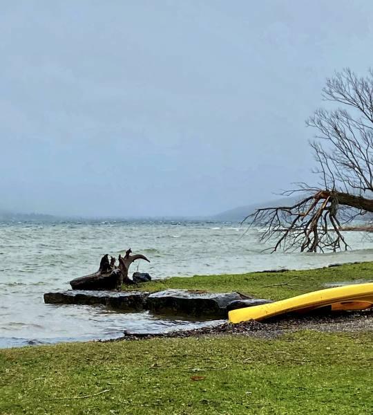 Otisco Lake - Easter Monday