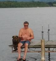 Fishing on Waneta Lake