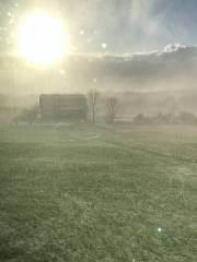 April blizzard in Hector