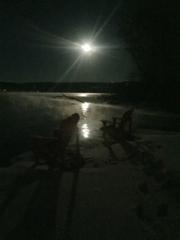 Thanksgiving Full Moon, Otisco
