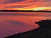 Liquid sunrise over Seneca
