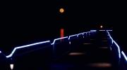 Super Moon over Seneca Lake