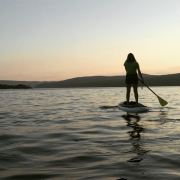 SUP on Keuka Lake
