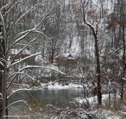 Canisteo River with Snow