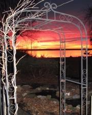 Fiery Sunrise over Seneca