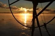 Wintry sunrise over Seneca