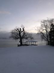 Morning Mist over Skaneateles