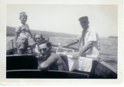 Early 50s boating on Keuka Lake