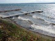 Seneca Lake wave action