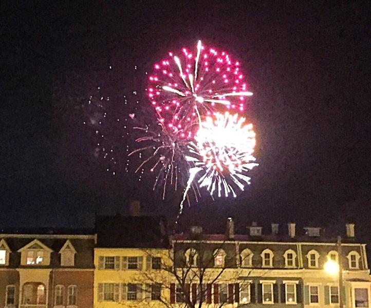 YMCA Frost Fest Fireworks