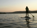 SUP on Keuka Lake