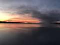 January Sunrise on Skaneateles Lake