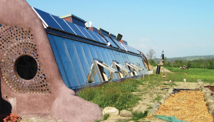 Creating The Freeville Earthship Life In The Finger Lakes