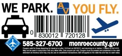 We Park. You Fly. monroecounty.gov
