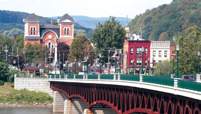 Image gallery owego river for Haas landscape architects