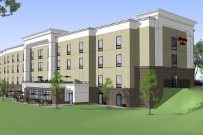 New Hampton Inn Breaks Ground in Penn Yan