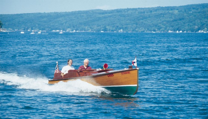 Antique Boating In The Finger Lakes Life In The Finger Lakes