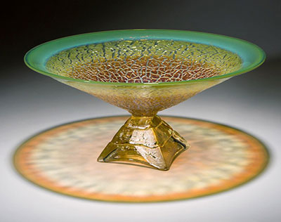 """Pyramid Bowl"" by Paul Willsea and Carol O'Brien"