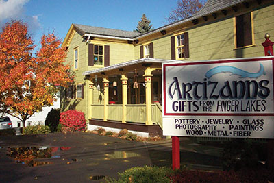Artizanns provides parking on site as well as on the street.