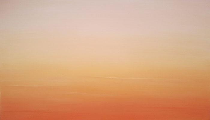 """Ithaca Dawn XXIV"" by Celia Bowers, (36"" x 48"") oil on canvas"