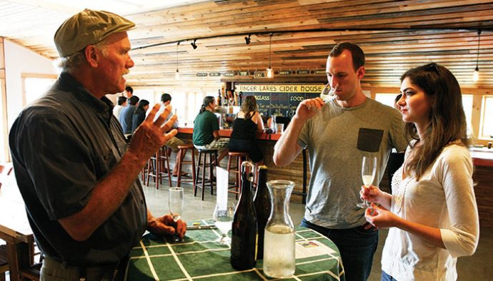 Exceptional The Cider House Rules. Ian Merwin, Cornell University Professor Emeritus Of  Horticulture And Co Owner Of Black Diamond Cider In Trumansburg, ...