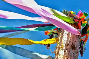 Maypole Family Event Celebrates European Tradition at Cumming Nature Center