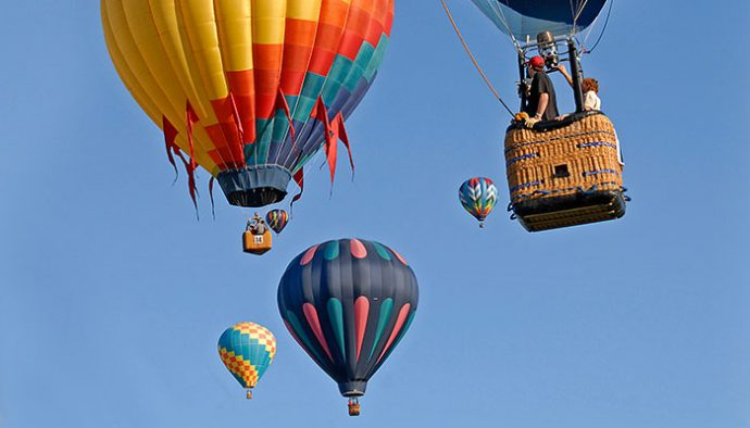 Dansville Balloon Festival 2020 Reserve a balloon ride now for a September surprise   Life in the