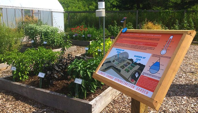 Climate Change Gardens brings plants back to the future - Life in ...