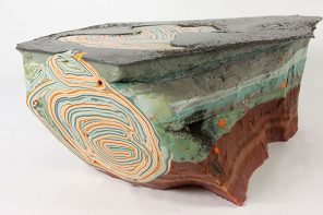 Geology and Art collide in Fall Exhibit at the Schweinfurth Art Center