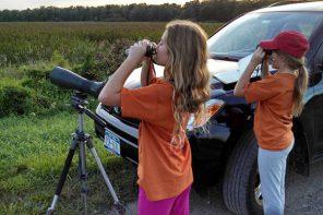 Birders Preparing for the Montezuma Muckrace