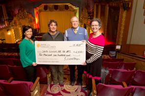 Bank of the Finger Lakes Makes Annual Donation to the Smith Opera House