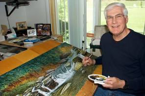 Nature Painting Exhibit at the National Soaring Museum