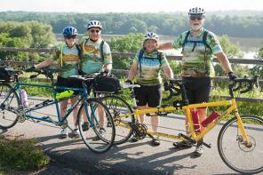 700 cyclists make 400-mile cross-state bicycle trip