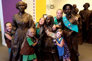 Girl Scout Convention on Women's Rights October 6-7 in Seneca Falls