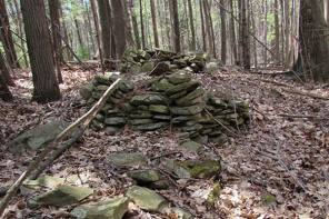 High Tor's Stone Mounds