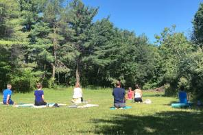 Yoga Glamping in the Finger Lakes