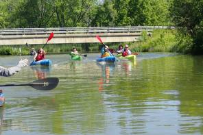 Finger Lakes Museum staff and volunteers are now ACA certified Kayak Instructors