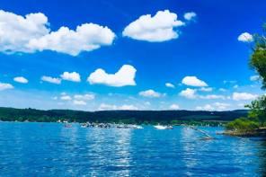 The 4th of July on Otisco Lake