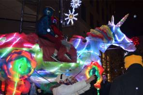 Downtown Ithaca's Winter Lights and Bites starts this weekend