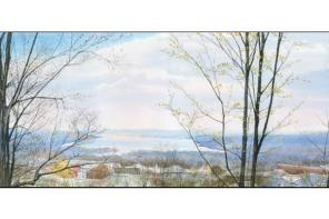 Pittsford Gallery's Featured Artist's Specialty: Finger Lakes Watercolors