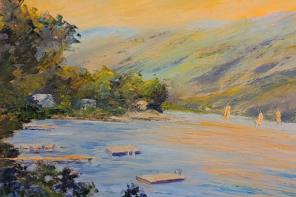 See the Colors of Spring in Canandaigua Art Gallery