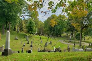 Autumn Spirit at Fort Hill Cemetery in Auburn